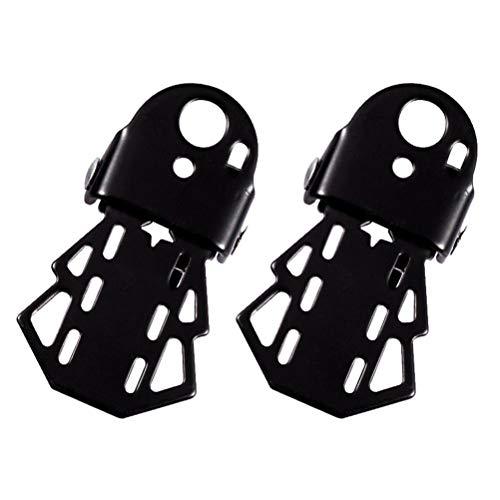 2 unids universal bicicleta acero eje pie pie clavijas bicicleta pedal plegable reposapiés pie clavijas