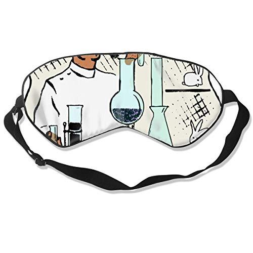 Preisvergleich Produktbild Augenmaske Labor Wissenschaftler Schlafmaske verstellbar atmungsaktiv Schlafmaske Schlafmaske Augenmaske Augenmaske Augenmaske Augenmaske Augenmaske