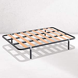Dreaming Kamahaus SOMIER de lámina Ancha Estructura de 30x30 | 90 x 190 cms.| Láminas de Chopo | Compatible con Patas cuadradas con Abrazadera (No Incluidas) | Fabricado en España |