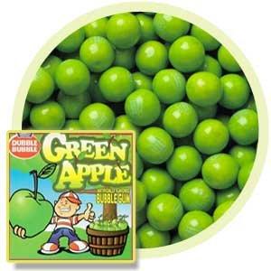 Green Apple 1  Gumballs 5LBS