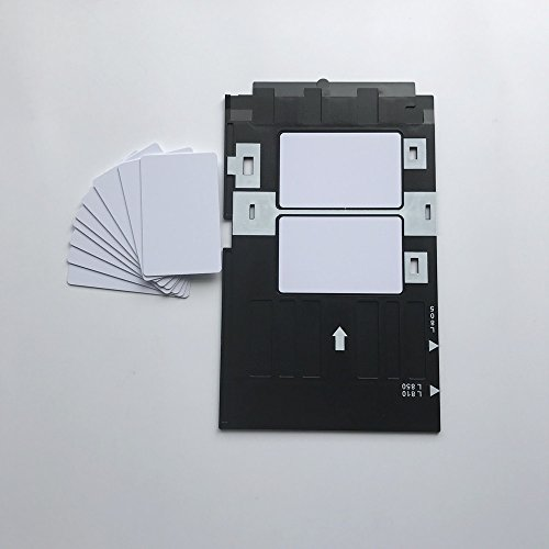 Kit de iniciación de tarjeta de identificación de PVC para inyección de tinta, tarjeta de...