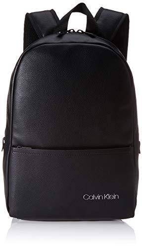 Calvin Klein Ck Direct Round Backpack - Borse a spalla Uomo, Nero (Black), 0.1x0.1x0.1 cm (W x H L)