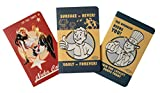 Fallout Pocket Notebook Collection (Set of 3) (Gaming)