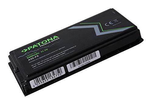 PATONA Batterie Premium (5200mAh) pour Ordinateur Portable Compatible avec ASUS A32-F5 | 70-NLF1B2000Z | 70-NLF1B2000Y | 90-NLF1B2000 | 90-NLF1B2000Z | 90-NLF1B2000Y | A32-X50 | BATAS2000