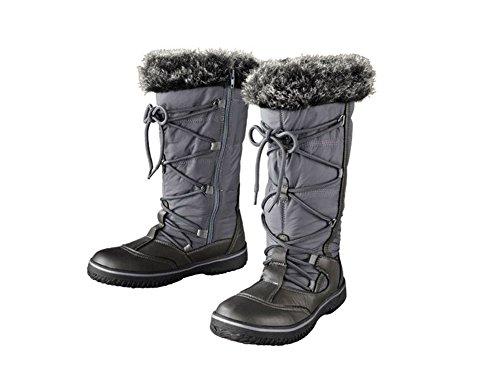 Damen TEX-Stiefel Profilierte, flexible Laufsohle Größe: 37 NEUWARE