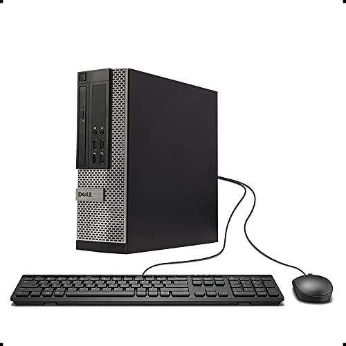 DELL Optiplex 9010 SFF Desktop PC - Intel Core i5-3470 3.2GHz 16GB RAM 240GB SSD DVD Windows 10 Pro, WIFI (Renewed)']