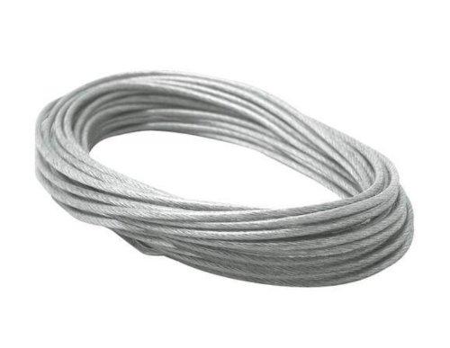 10m Spannseil Sicherheitsseil isoliert Seilsystem Seilset 2,5qmm Neu
