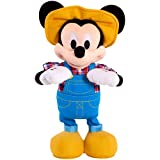 Disney Junior Mickey Mouse Sing and Dance Plush Toy, Great Interactive Play for Kids