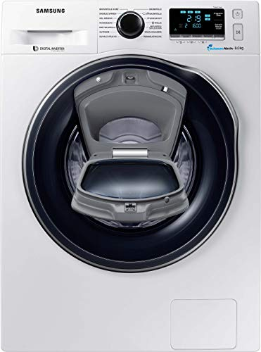 Samsung WW6400 WW8HK6400QW/EG Waschmaschine 8 kg, 1400 U/min, A+++, AddWash,...
