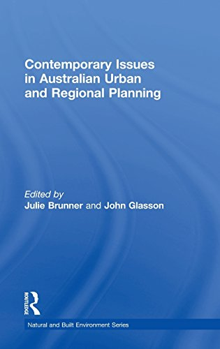 Contemporary Issues in Australian Urban and Regional Planning (Natural and Built Environment Series)