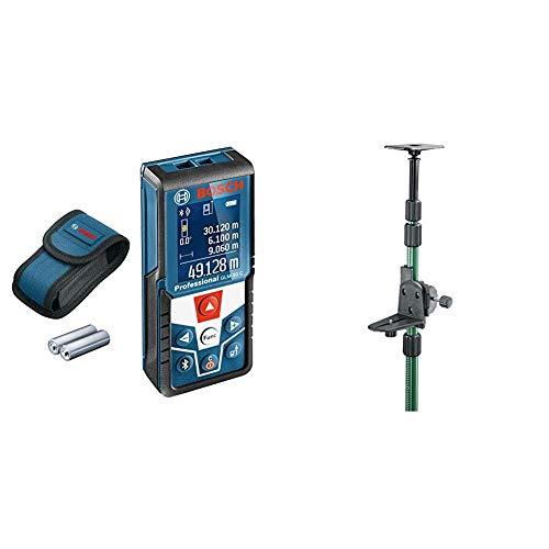 Bosch Professional Distanziometro laser GLM 50 C (trasferimento dati Bluetooth & Home and Garden 0603693100 Asta Telescopia, TP 320