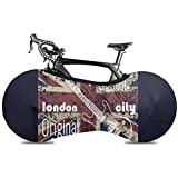 Fahrradreifen-Abdeckung,London Symbole Mit Elizabeth Tower (Big Ben) Mountain Funktionsfahrradabdeckungen