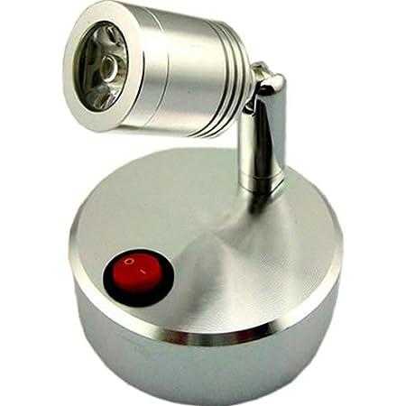 【 コンセント 不要 】 LED スポット ライト 屋 内 用 壁 天井 展示 撮影 MI-VISTA (イエロー : 電球色) 【COM-SHOT】