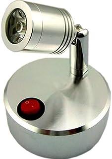 【 コンセント 不要 】 LED スポット ライト 屋 内 用 壁 天井 展示 撮影 MI-VISTA (ホワイト : 昼白色) 【COM-SHOT】