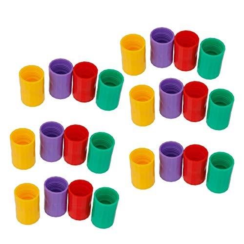 Tubayia 12 Stück Tornado Adapter Flaschentornado Wissenschaft Lernspielzeug für Kinder