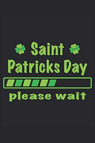 Saint Patricks Day Irisches Bier Kleebblatt Irland Irische Flagge Geschenk: Notizbuch - Notizheft - Notizblock - Tagebuch - Planer - Kariert - ... 6 x 9 Zoll (15.24 x 22.86 cm) - 120 Seiten