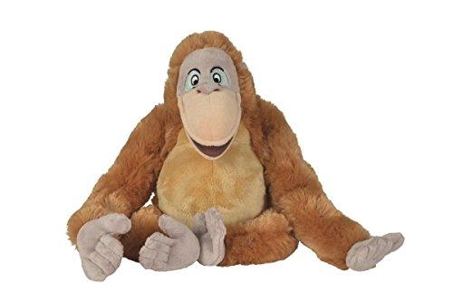 Disney Jungle Book 6 'peluche peluche - Baloo Bagheera Roi Louie Shere Khan (Roi Louie)