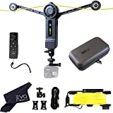 Wiral LITE Cable Cam with Remote for Action Cameras, Smartphones, 360 Camera or DSLR Mirrorless Cameras up to 3.3LBs - Includes Wiral Travel Case (2 Items)