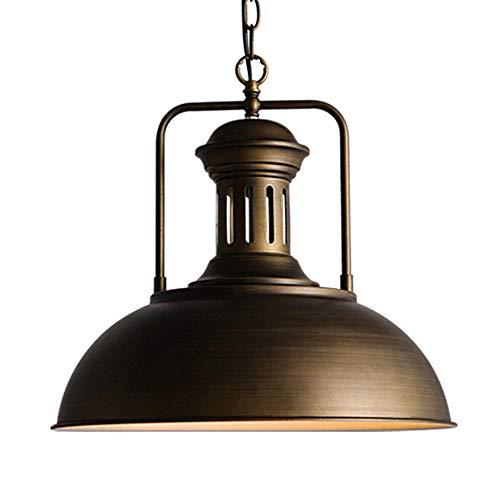 LED Retro Industrie Wind Kronleuchter e27 * 1 Schmiedeeisen Topf Abdeckung Kreative Esszimmer Lampe Deckenleuchte Wohnzimmer Beleuchtung Beleuchtung φ41 * H37CM
