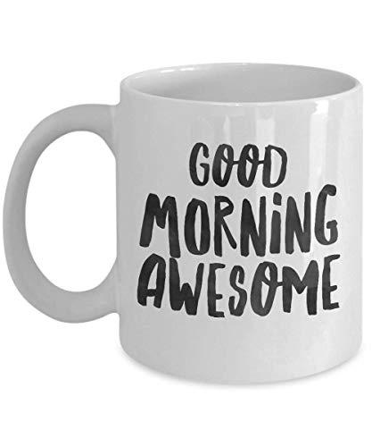 Guten Morgen Super, Morgen Kaffeebecher, Guten Morgen Becher, Guten Morgen Schön