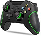 LIJJY Gamepad Mejorado del Controlador inalámbrico para Xbox One/One S/One X / PS3 / One Elite/Windows 10 | Vibración Dual