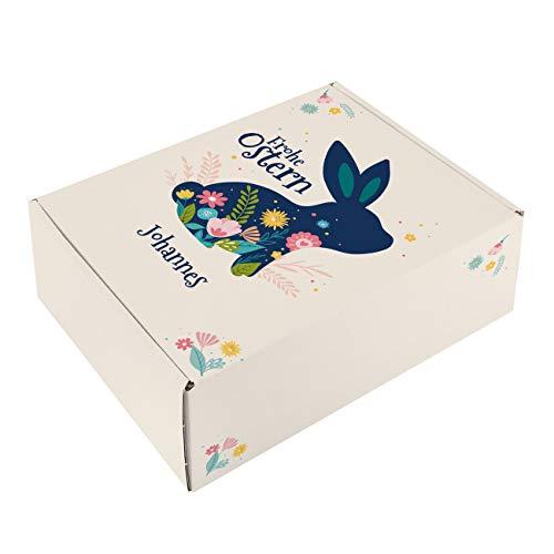 Herz & Heim® Ostergeschenk Verpackung mit Personalisierung Frohe Ostern