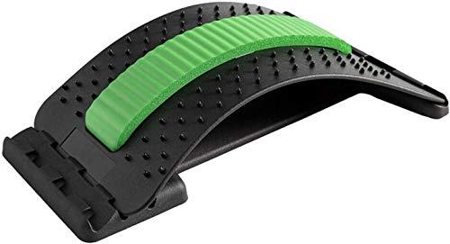 Langguth Rückenstrecker, Rückendehner Trainingsgerät, Einstellbarer Rückendehner, Rückenmassagegerät Fitness, Wirbelsäulenstrecker, Rückenmassage Linderung und Entspannung