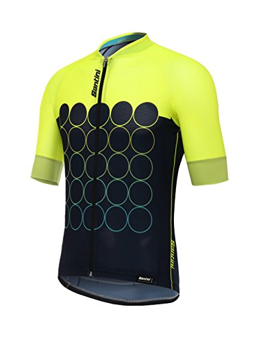 Airform Mesh Cycling Jersey in red Made in Italy by Santini