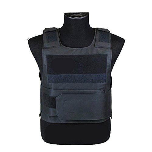 Etbotu Weste Schutzkleidung für die Polizei, Leichte Rüstung Platte Taktische SWAT Weste Schutzkleidung für die Polizei
