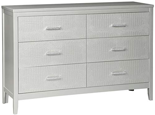 Ashley Furniture Signature Design - Olivet Dresser - Silver