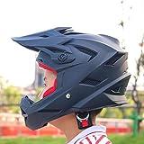 XZ Portable 'S Helmet' pour casque à une roue, moto hors route, vélo de rue, casque intégral,Noir,30 * 21 *...