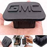fit GMC Hitch Tube Cover Plug Cap for,Rubber Receiver Tube Hitch Plug,Trailer Hitch Cover (fit gmc -1)