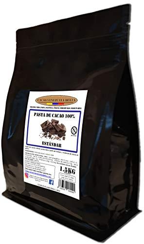 Cacao Venezuela Delta - Cioccolato Fondente Puro al 100% · Tipo Standard (Pasta, Massa, Liquore di Cacao al 100%) · 1,50kg