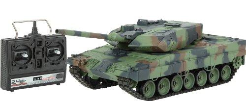 TORRO Leopard 2A6 RC Panzer tarn 1:16 schussfähig Rauch & Sound RTR fahrfertig