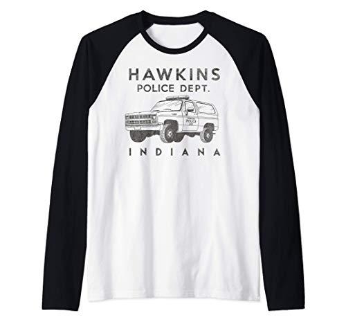 Netflix Stranger Things Hawkins Police Dept. Indiana Camiset