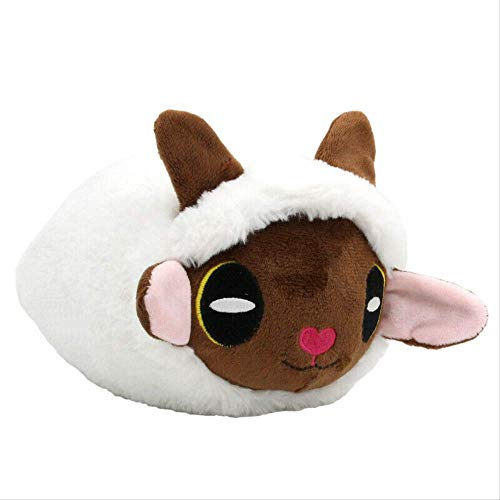 qwermz Peluche - 18cm Anime Poke Sword and Shield Wooloo