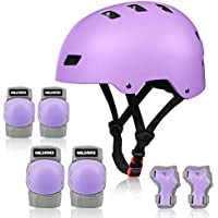 WILDMAX Adjustable Helmet with Elbow Knee Wrist Pads