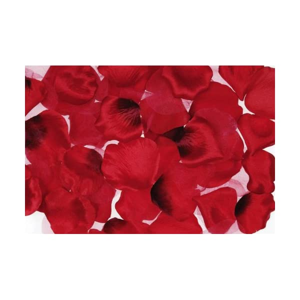 KingWinX Rose Petals for Wedding Decoration