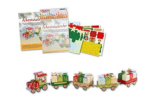 Creative Discount: Adventskalender, Weihnachtszug