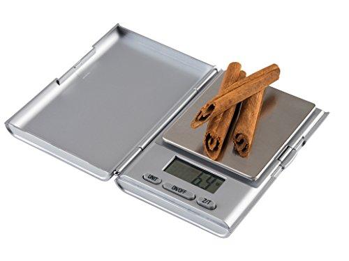 Korona 79444 Anja Taschenwaage | Kunststoff | Silber | präzise Auflösung von 0,1 Gramm