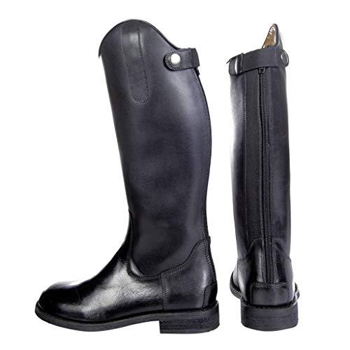 HKM 10043 Córdoba Botas de equitación para niños, Piel de