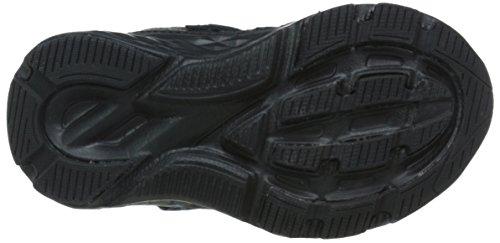 New Balance New Balance KV690I Uniform Running Shoe (Infant/Toddler), Black/Black, 21 M EU