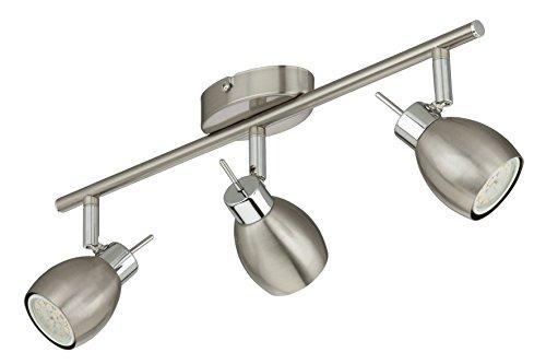 Briloner Leuchten, LED Deckenstrahler, Deckenleuchte, Deckenlampe, Spots, LED Strahler, Wohnzimmerlampe, Deckenspot, Deckenbeleuchtung, Deckenlampe Wohnzimmer-Kinderzimmer-Schlafzimmer, LED Lampe, schwenkbar