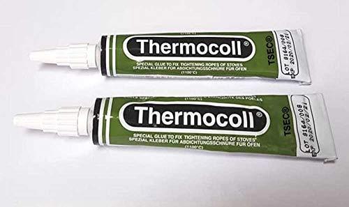 Thermofix Hochtemperaturkleber 1100°C Dichtung Dichtschnur 17 ml Tube Kaminofen 1-5 Stück (17 ml 2 Tuben)