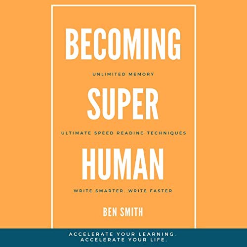 Becoming Superhuman audiobook cover art