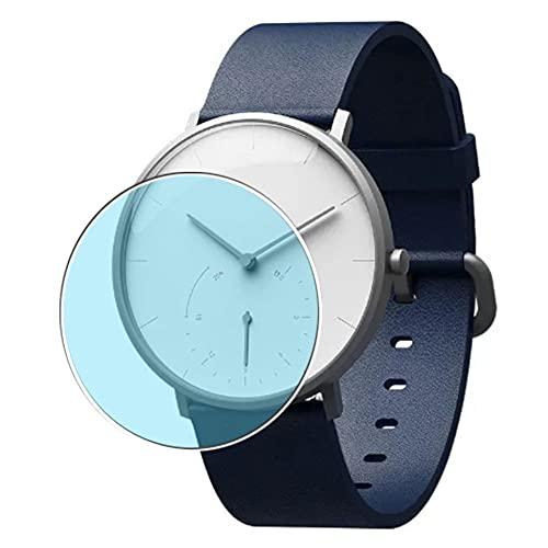 Vaxson 3 Unidades Protector de Pantalla Anti Luz Azul, compatible con Xiaomi Mijia SYB01 Smartwatch smart watch [No Vidrio Templado] TPU Película Protectora