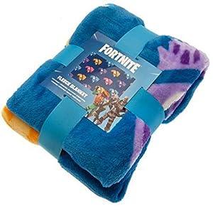 Fornite Primark Licensed Manta de Forro Polar para niños, diseño de Personaje, Color Gris: Amazon.es: Hogar
