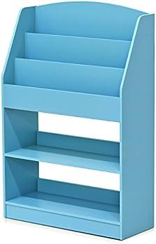 Furinno KidKanac Magazine/Bookshelf with Toy Storage