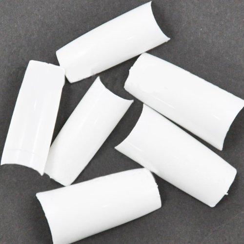 500pcs ongles blancs français conseils de CODE: #13