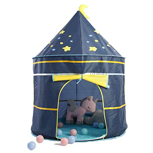 Bomcomi Portable Cartoon Kids Tent Home Tent Castle Baby Children Indoor Outdoor Play Game House Birthday Gift